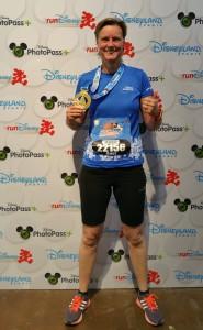 Anet and half marathon Disneyland Paris