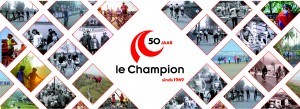 Le Champion 50 jaar header